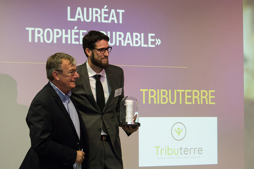 Trophées Business Happiness de Val d'Europe catégorie Durable - Tributerre
