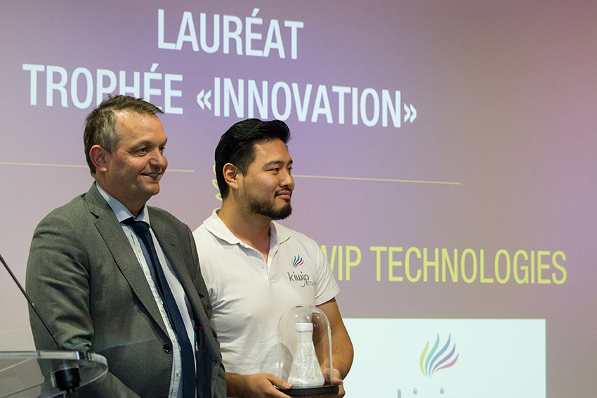 Trophées Business Happiness de Val d'Europe catégorie Innovation - Kiwip Technologies
