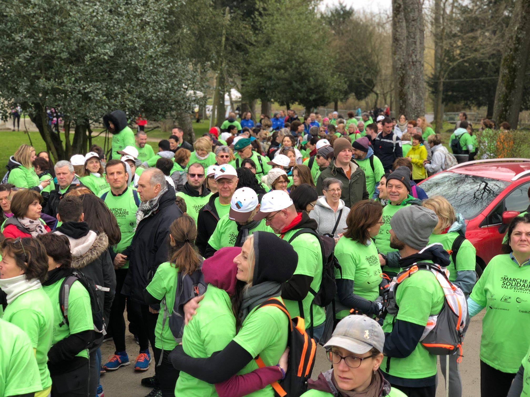 Marche solidaire Val d'Europe 2018