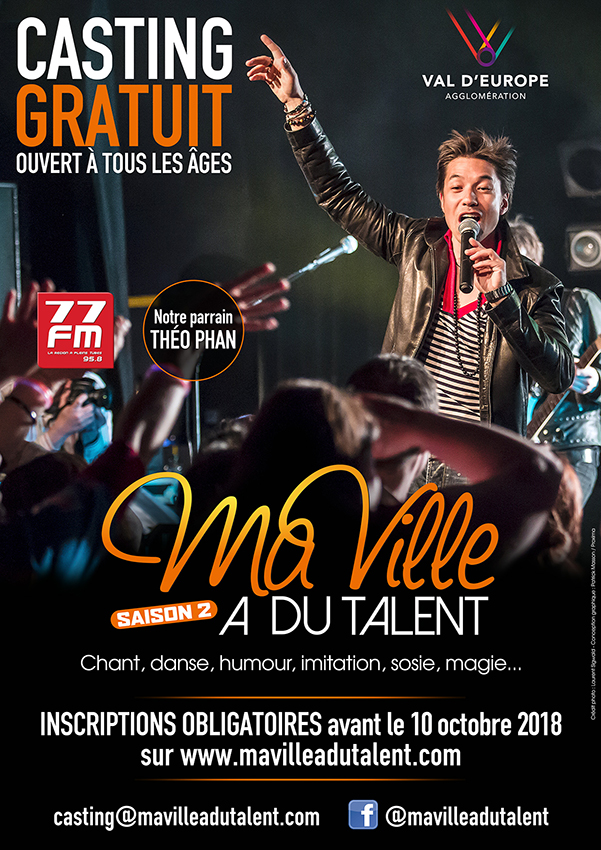 Ma ville a du talent arrive val d europe val d for Piscine de val d europe