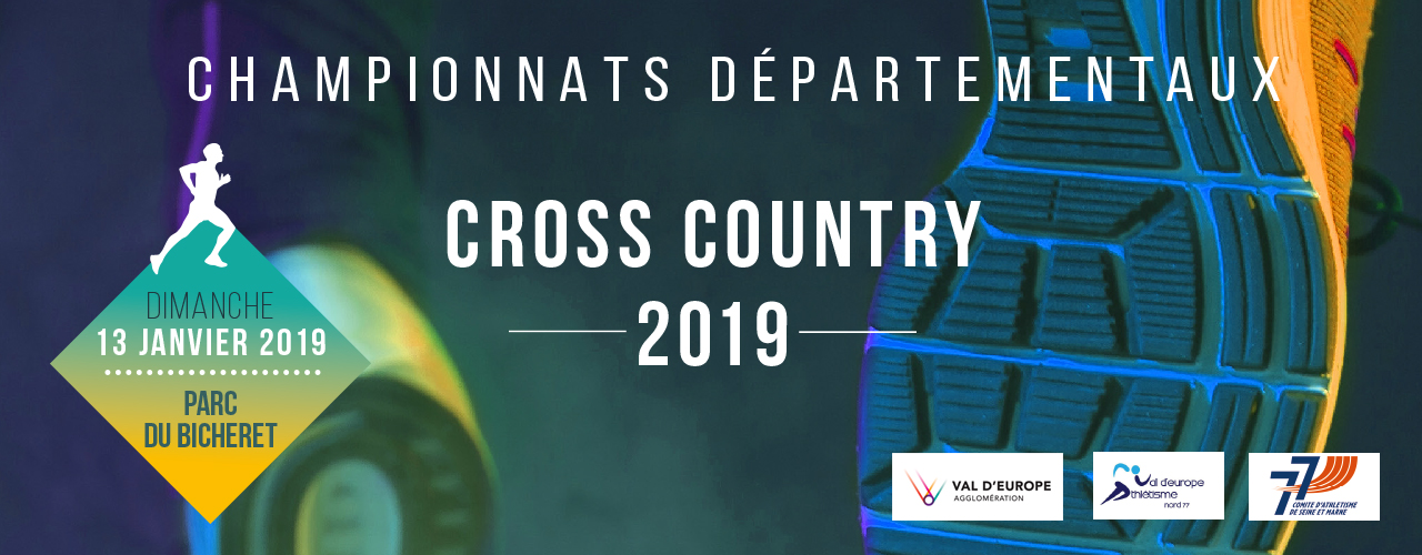 Championnats départementaux de Cross country 2019