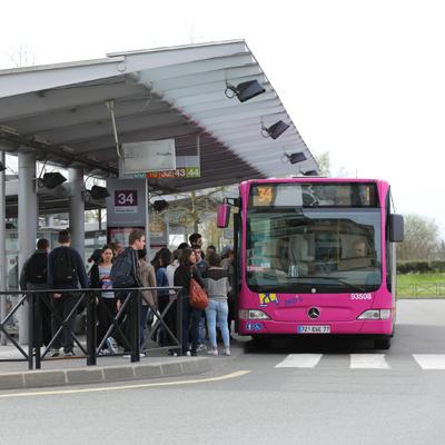 Val d'Europe en bus