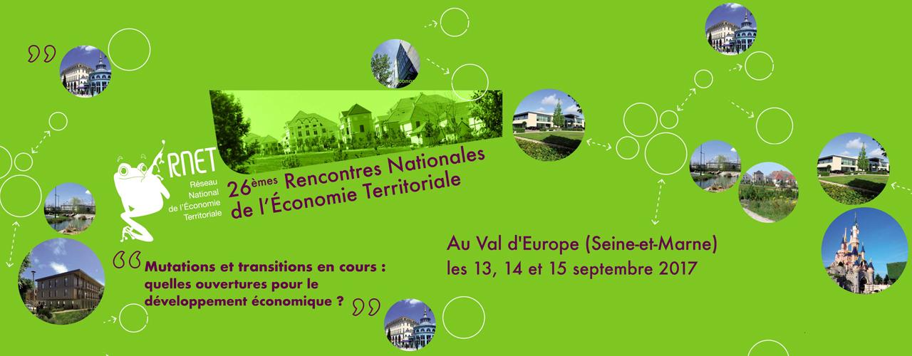 26ème Rencontres Nationales de l'Économie Territoriale