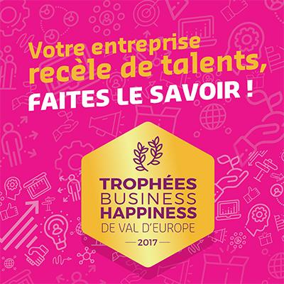 Les Trophées Business Happiness de Val d'Europe.