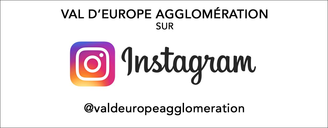 Rejoignez Val d'Europe agglomération sur Instagram