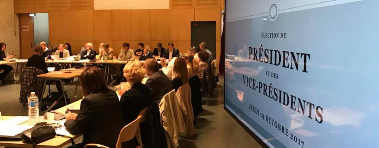 Élection du Président et des Vice-Présidents de Val d'Europe agglomération