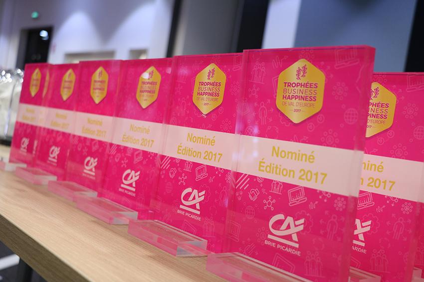 Trophées des candidats offert par le Crédit Agricole Brie Picardie ©Val d'Europe agglomération / Sandrine OLIVIER