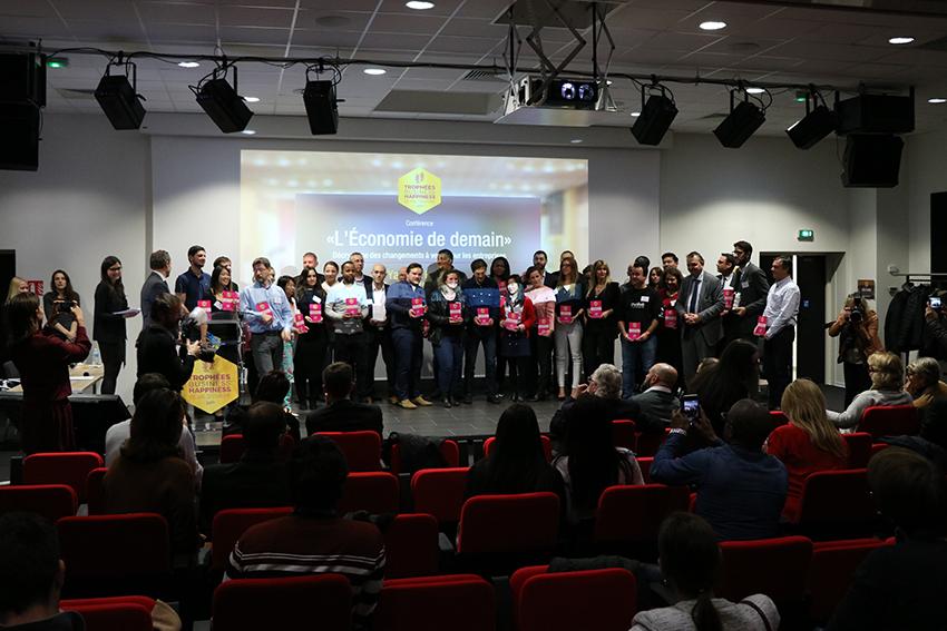 Les 40 entreprises candidates aux Trophées Business Happiness de Val d'Europe ©Val d'Europe agglomération / Sandrine Olivier