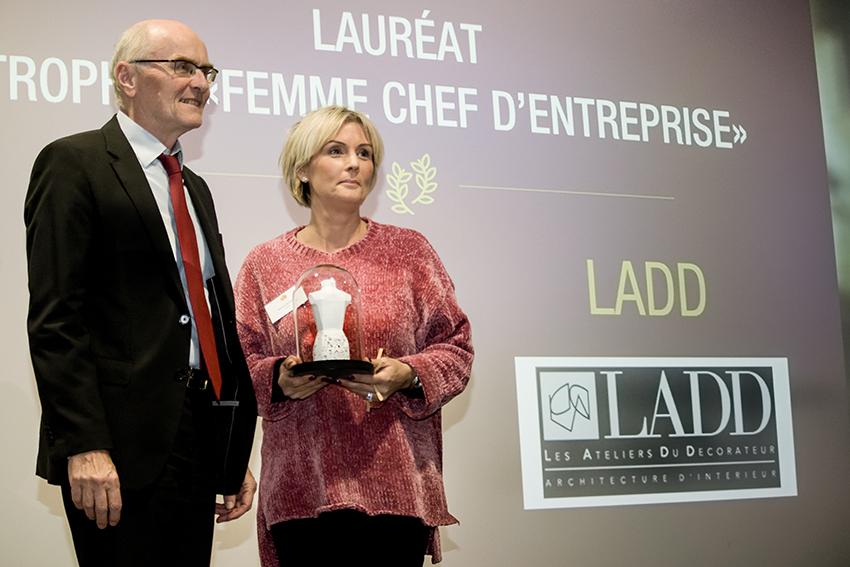 Trophées Business Happiness de Val d'Europe catégorie Femme chef d'entreprise