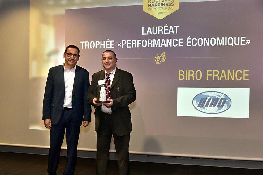 Trophées Business Happiness de Val d'Europe catégorie Performance économique