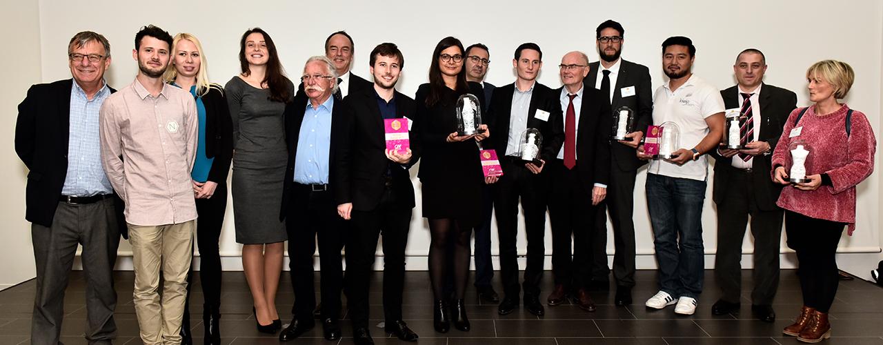 Les lauréats des Trophées Business Happiness de val d'Europe ©Val d'Europe agglomération / S2Griff