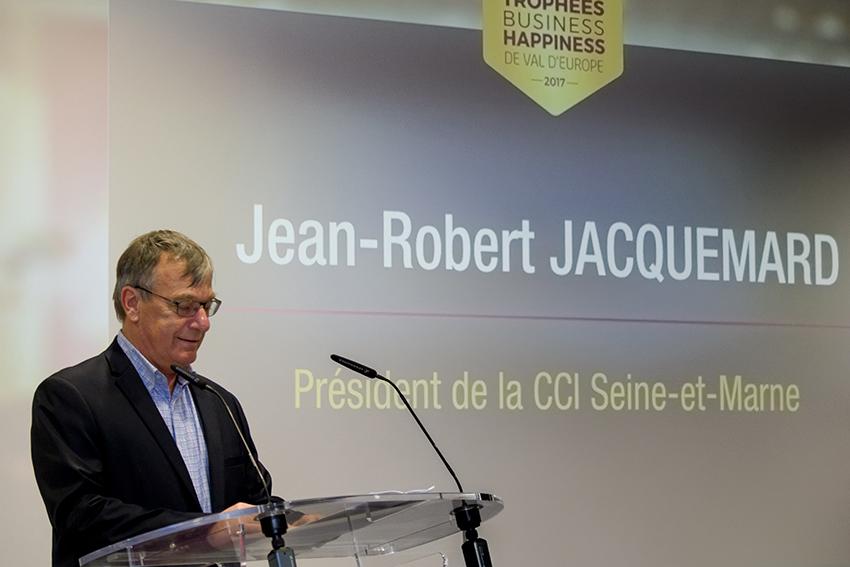 Jean-Robert Jacquemard Trophées Business Happiness de Val d'Europe