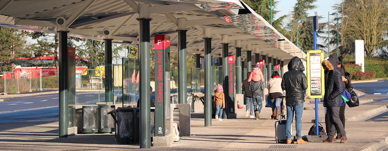 Gare routière Nord de Chessy