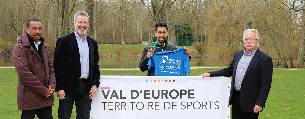 Morhad Amdouni champion de France de cross country de retour à Val d'Europe