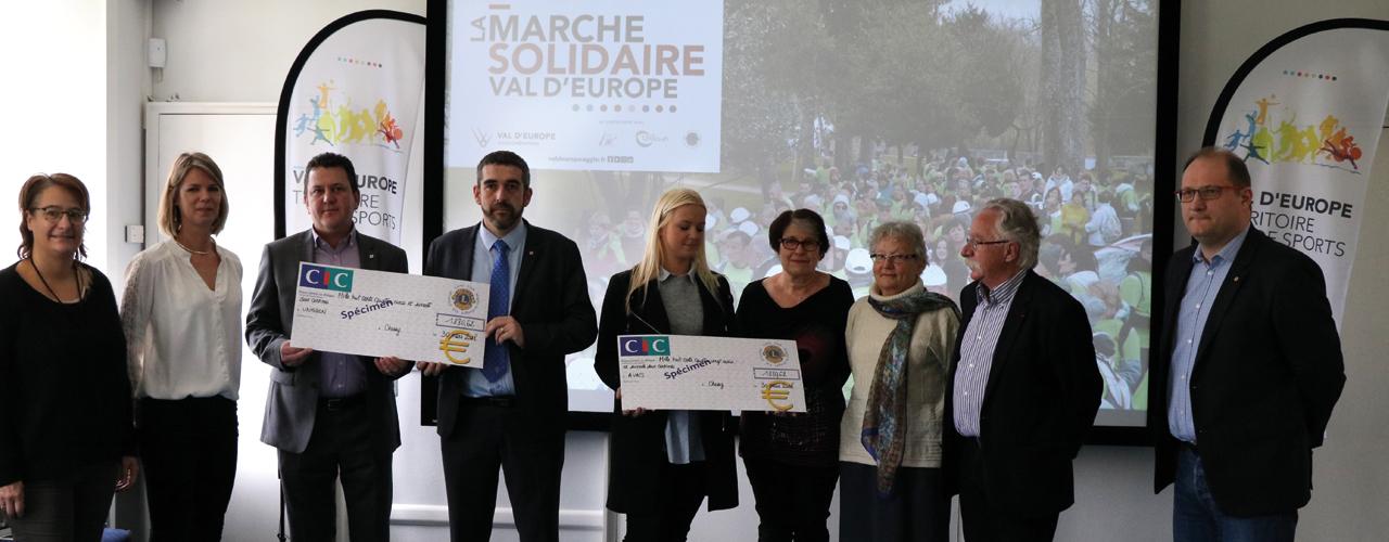Marche solidaire de Val d'Europe