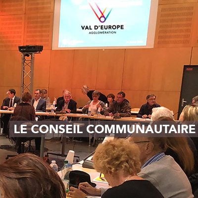 Conseil Communautaire de Val d'Europe agglomération