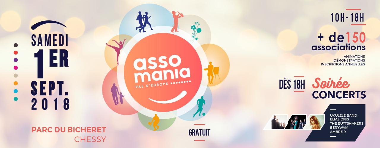 Assomania débarque à Val d'Europe !