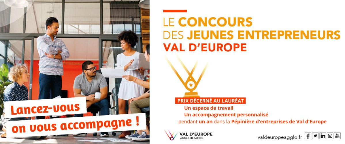 Le concours des jeunes entrepreneurs de Val d'Europe