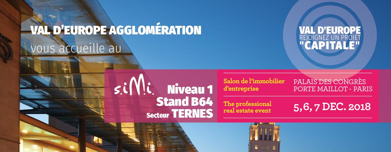 Val d'Europe Agglomération présent au SIMI 2018