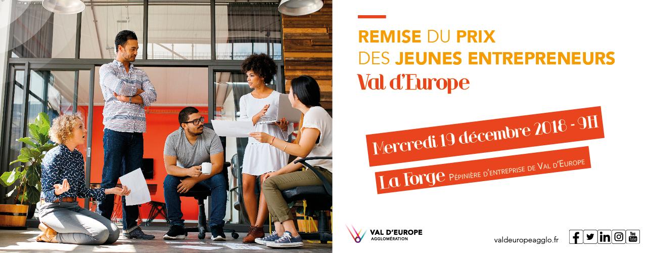 Le concours Jeune Entrepreneur de Val d'Europe a (bientôt) son lauréat  !