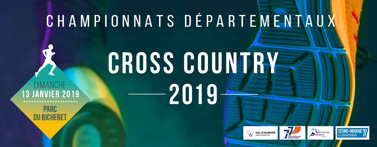 Championnats départementaux de Cross Country 2019