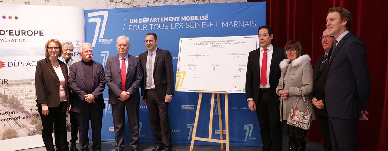 Signature du contrat intercommunal de développement 2018-2021