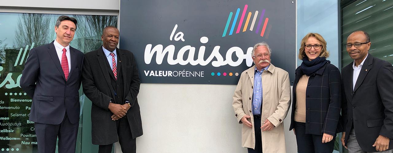 Le Centre Social Intercommunal de Val d'Europe a désormais un nom : La maison Valeuropéenne