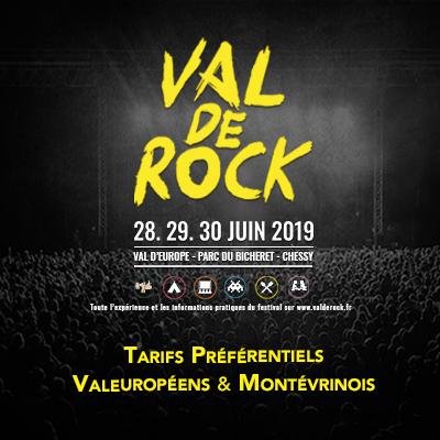 Val de Rock Festival tarifs preferentiels