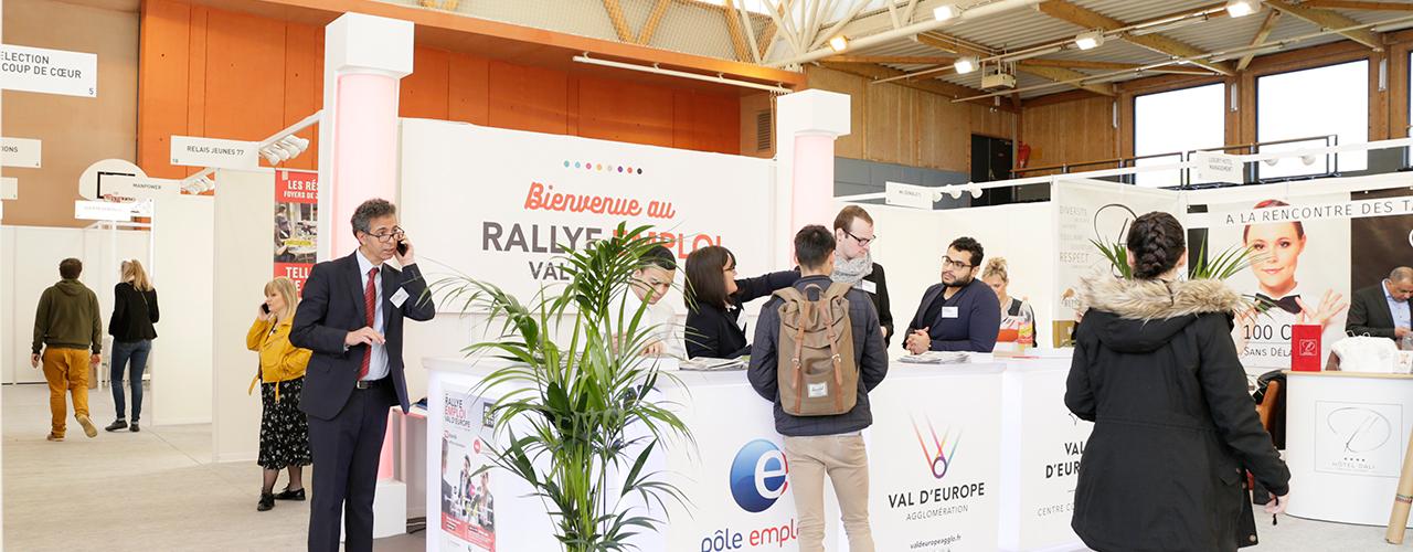 + de 1000 visiteurs au Rallye Emploi Val d'Europe 2019