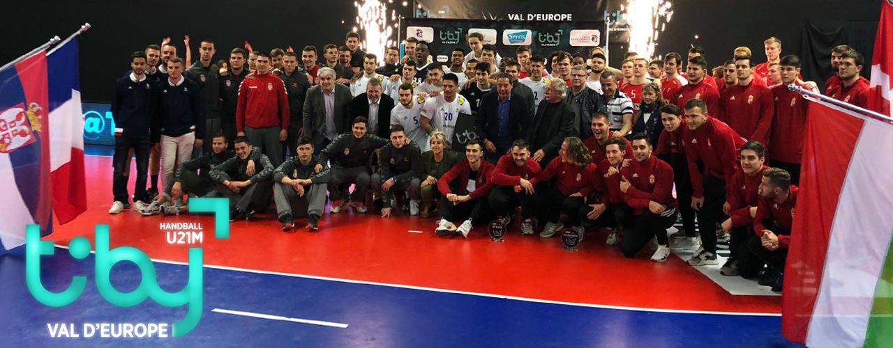 Succès au rendez-vous pour la 1ère édition du Tiby Handball Val d'Europe U21M