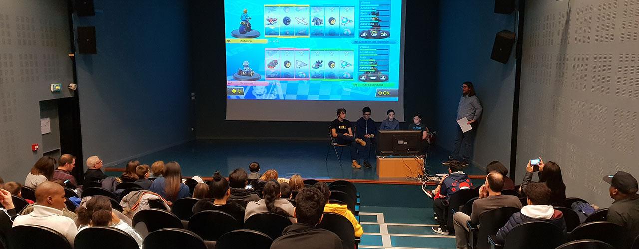 Jeux vidéo sur grand écran