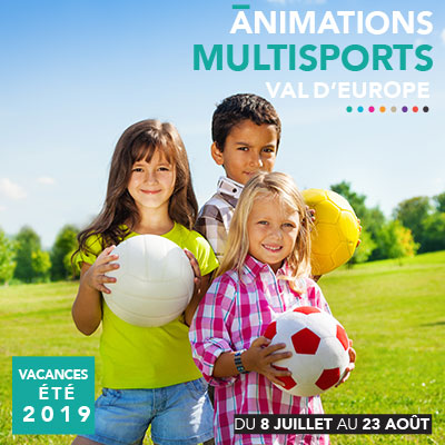 Animations multisports été 2019