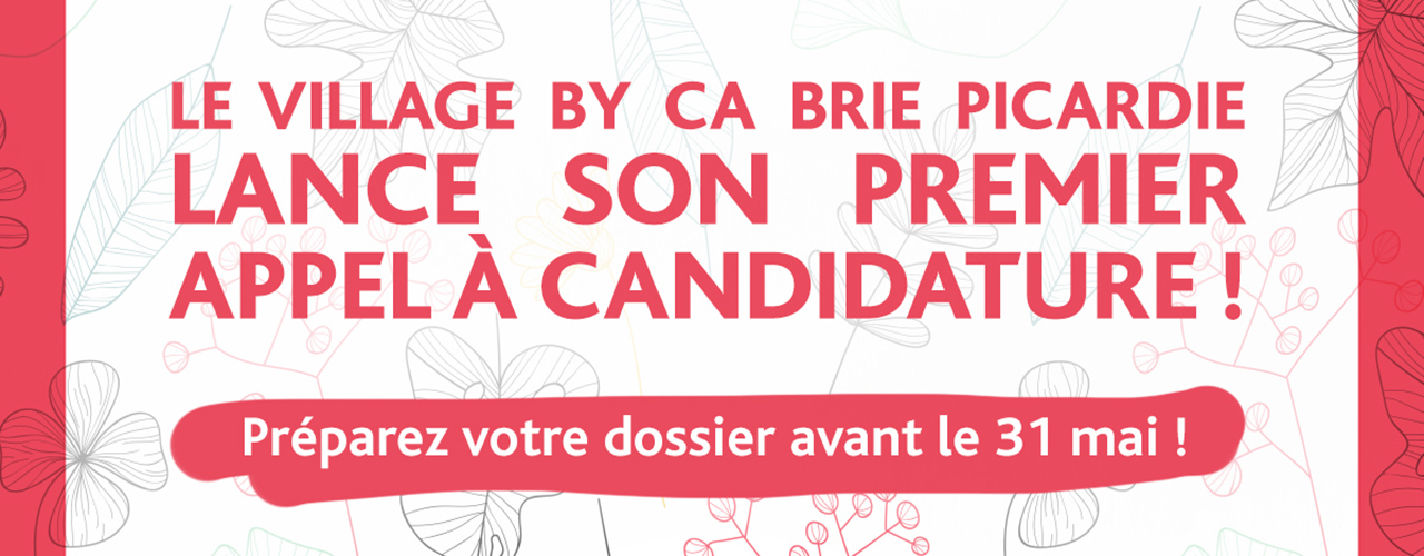 Appel à candidature – CA Brie Picardie