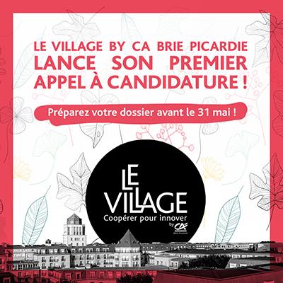 Appel à candidature - CA Brie Picardie 2019