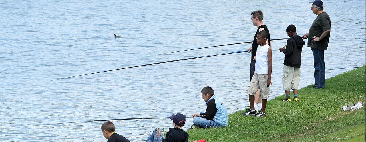 Stage pêche et modélisme