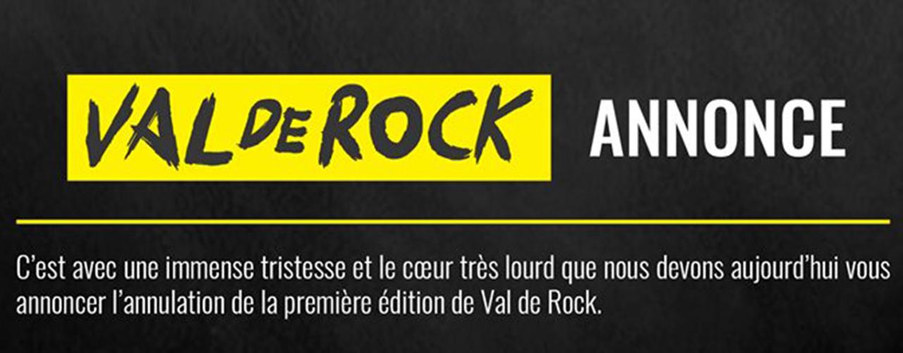 Festival Val de Rock – Remboursement