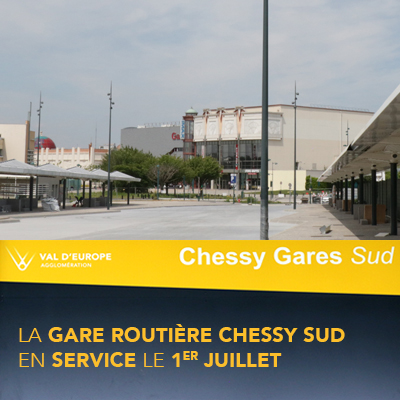 Gare routière Chessy Nord
