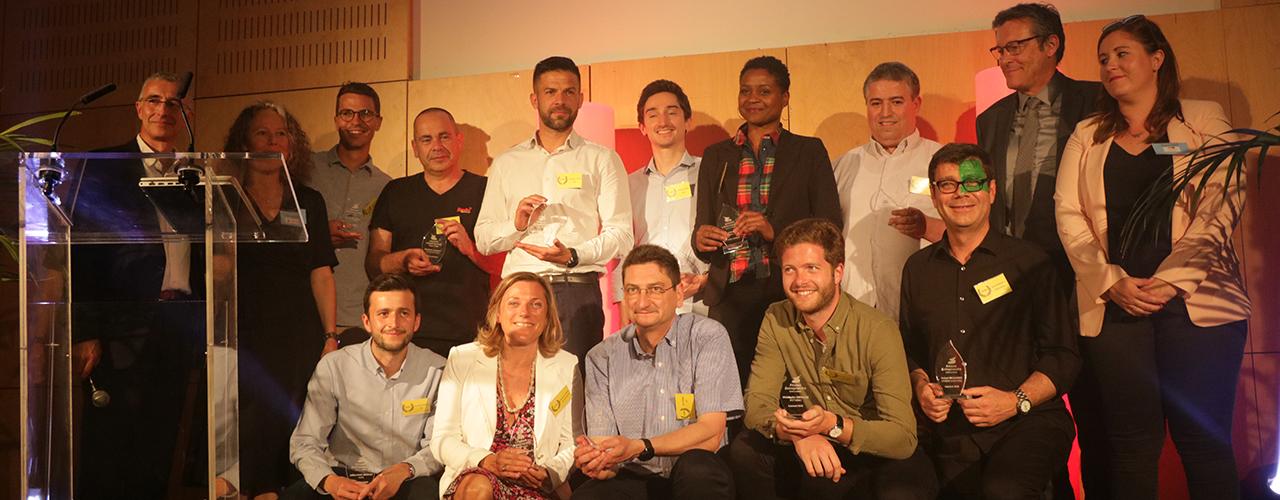 Félicitations aux lauréats 2018 du Réseau entreprendre Seine & Marne