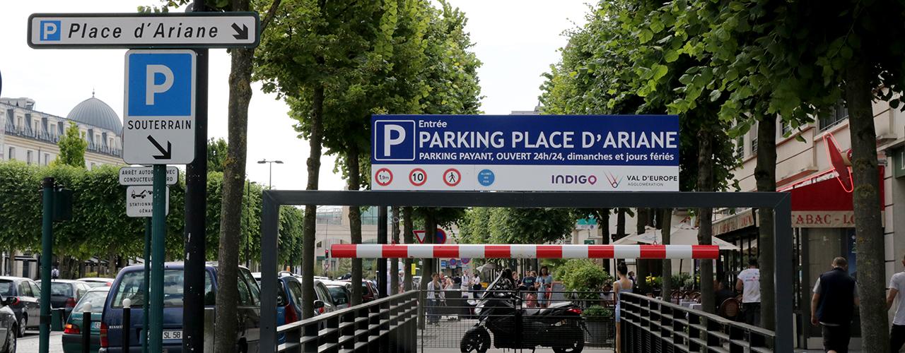 Le parking souterrain de la place d'Ariane bientôt entièrement rénové et sécurisé
