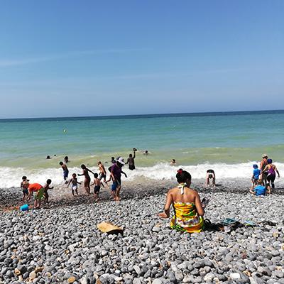 Sortie en famille à Dieppe