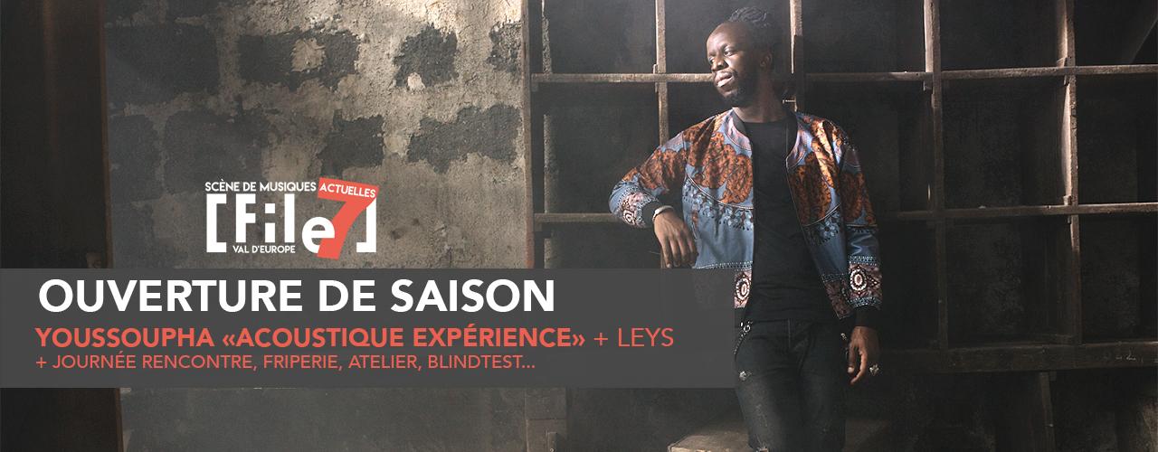 Youssoupha «Acoustique expérience»+ Leys