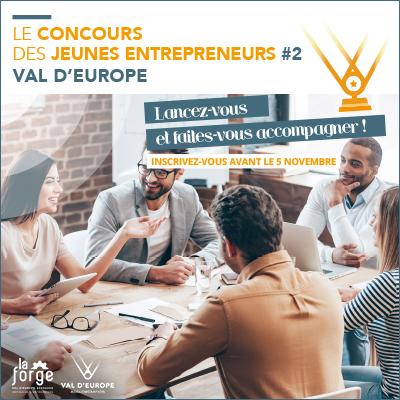 Concours Jeunes entrepreneurs Val d'Europe