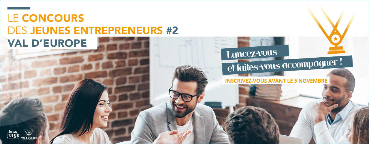 Le concours des jeunes entrepreneurs de Val d'Europe #2