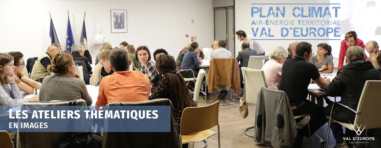 Les ateliers du plan Climat Val d'Europe en images
