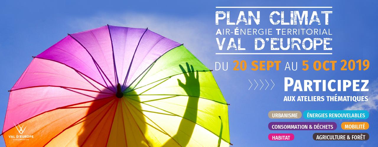 Plan Climat Val d'Europe, participez aux ateliers thématiques
