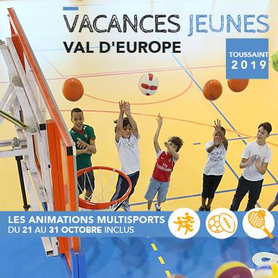 Vacances jeunes Animations multisports