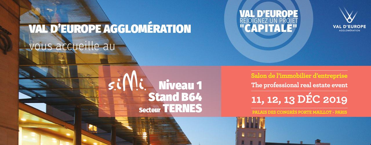 Val d'Europe Agglomération présent au SIMI 2019