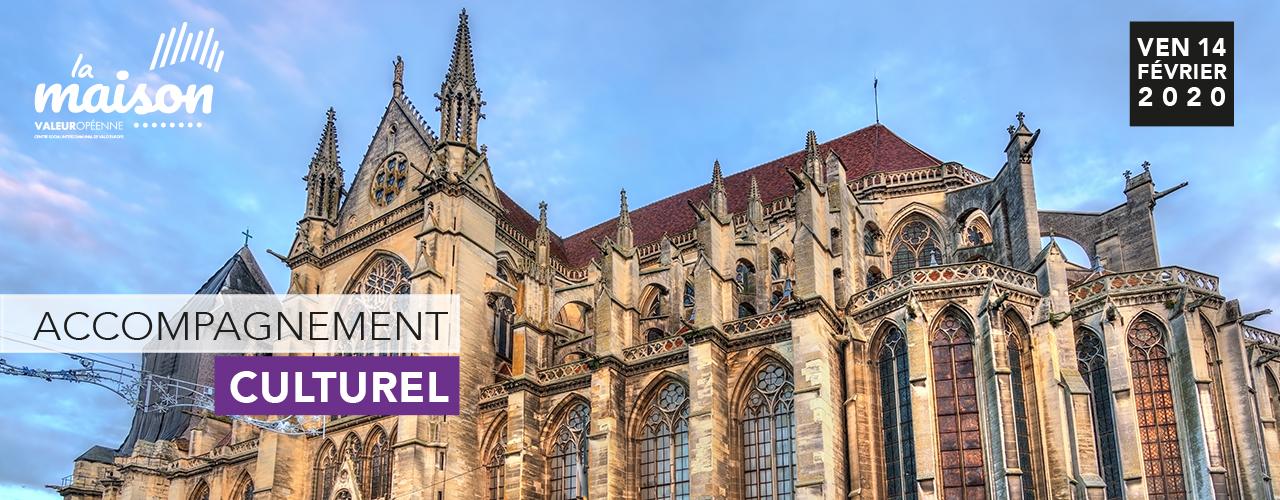 Visite de la cathédrale de Meaux et du jardin Bossuet