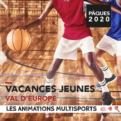 Animations multisports vacances jeunes Val d'Europe