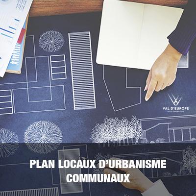 Plan locaux d'urbanisme communaux
